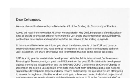 CoP Newsletter 2