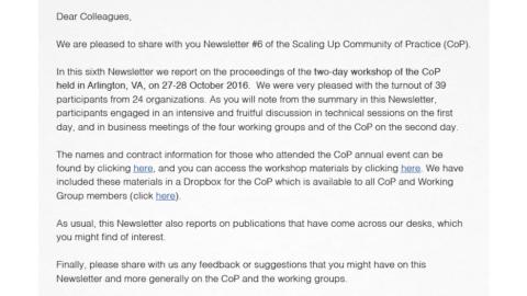 Cop Newsletter 6