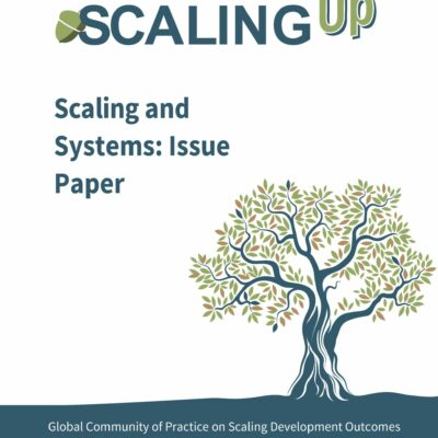 Scaling and Systems Change cover page